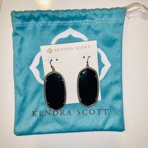 Black Kendra Scott Elle Earrings